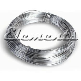 Silver Plated Non Tarnish Round Wire 0.2mm - 2mm