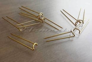 U Shape Jewellery Craft Display Pins MULTI LISTING