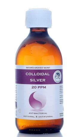 REFILL BOTTLE 20PPM ENHANCED COLLOIDAL SILVER 300ML - PH 9.0