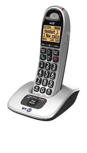 BT 4000 Big Button Single - Cordless Phone  Item no49664