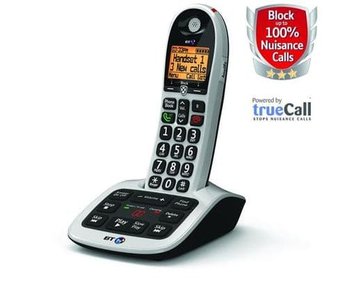BT 4600 Advanced Nuisance Call Blocker Single