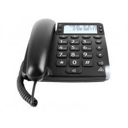 Doro Magna 4000 - Corded Phone With Caller Id/Call Waiting - Black