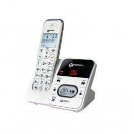 Geemarc Amplidect 295 - Cordless Phone - Answering System With Caller Id/Call Waiting - Dect\Gap