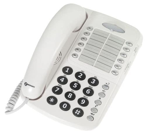Geemarc CL1100 - Corded Phone - White
