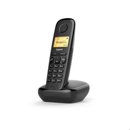 Gigaset A170 - Cordless Phone With Caller ID - Dect\Gap - Black