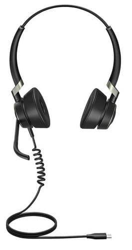 Jabra Engage 50 Stereo - Headset - On-Ear - Wired - Usb-C