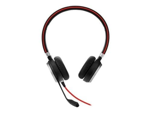 Jabra Evolve 40 Stereo - Headset - On-Ear - Replacement - Wired