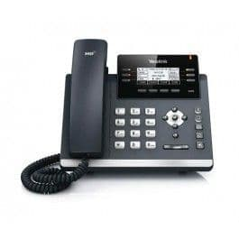 Yealink SIP-T42S - VoIP Phone - 3-WAY Call Capability - SIP, SIP V2 - 12 Lines