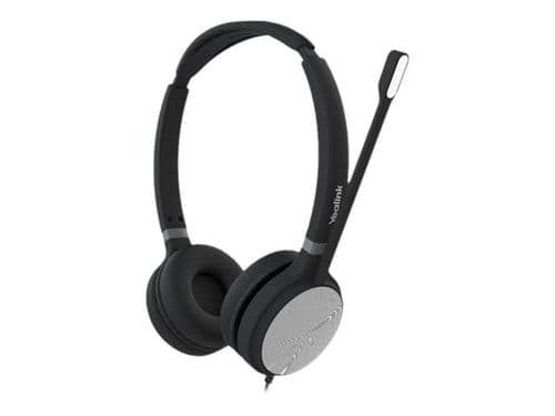 Yealink UH36 Dual - Teams Edition - Headset - On-Ear - Wired - USB - Black And Silver
