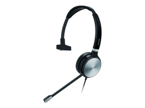 Yealink UH36 Mono Teams - Headset - On-Ear - Wired - USB, 3.5 Mm Jack - Black And Silver
