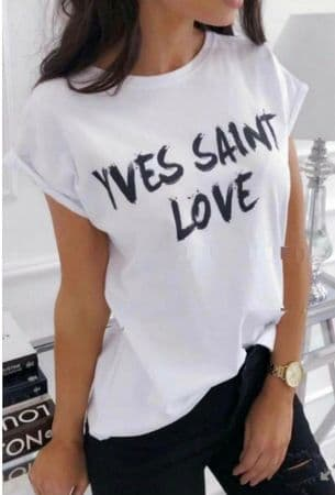 Yves Saint Love Tshirt