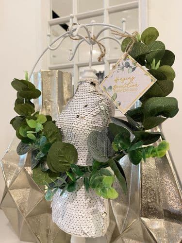 20Cm Eucalyptus Roundchanging Decoration