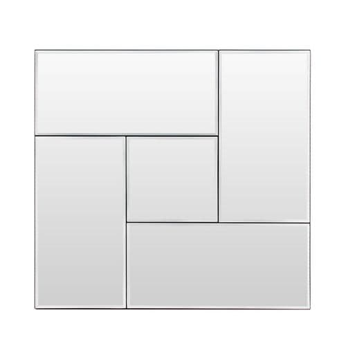 50cm Square Panel Wall Mirror