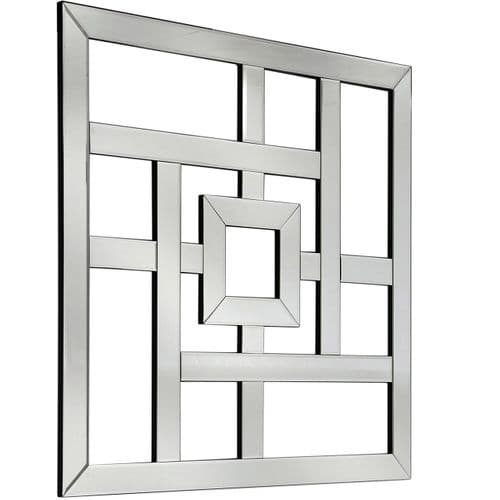 Geo  Mirror Wall Art 80cm x 80cm