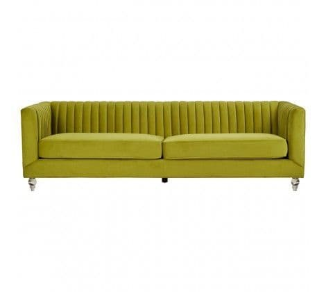 Buxton Sofa 3 Seat Green