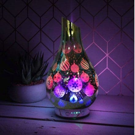 Desire Orb Silver Christmas Baubles Humidifier