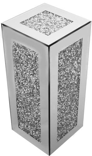 Falcon Crushed Stone  Mirrored Cube Large
