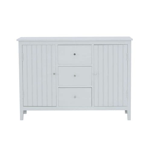 Hanley Slim 2 Door 3 Drawer Sideboard Grey