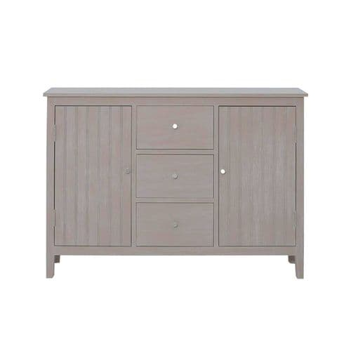 Hanley Slim 2 Door 3 Drawer Sideboard Taupe