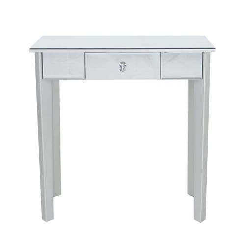 Luxe Mirror Console Table With 1 Drawer