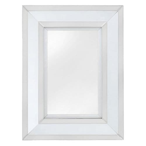 Mitcham Small Wall Mirror White clear
