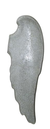 Silver Mosaic Right Angel Wing Wall Decoration