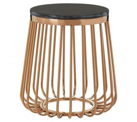 Tulare Caged Side Table
