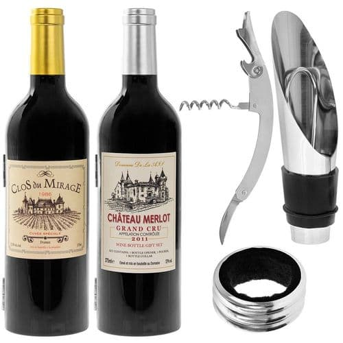 Wine Connoisseur Corkscrew Bottle Opener Set