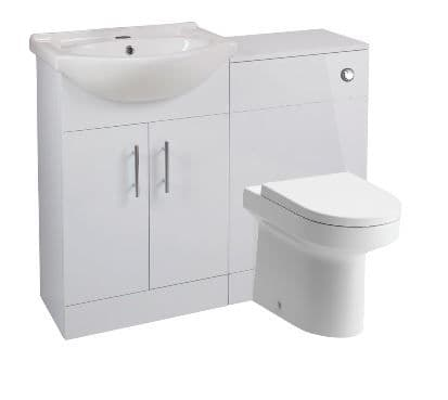 Black Friday Cloakroom or Ensuite Set