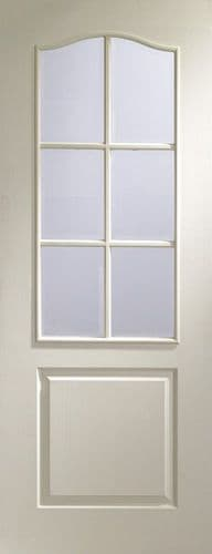 Classique 6 Light Clear Bevelled Glazed