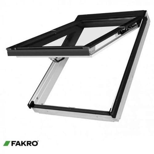FAKRO PreSelect Rooflight - White Painted FPW-V Dual Top Hung Roof Window