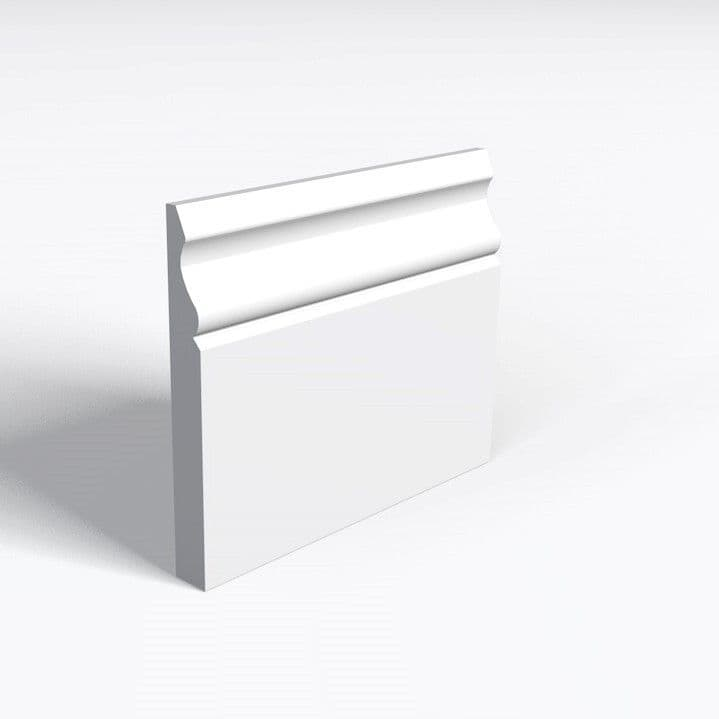 MDF White Primed Ogee Skirting 15 x 94mm