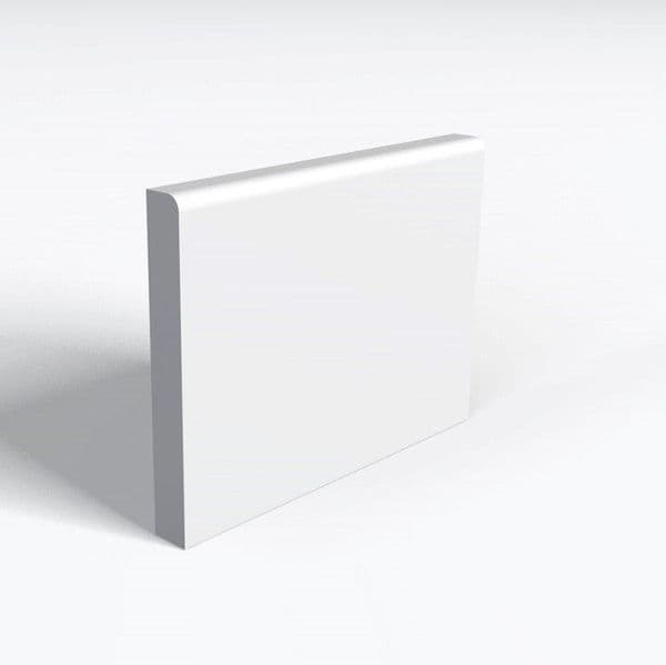 MDF White Primed R1E Skirting 15 x 94mm 4.4 metre