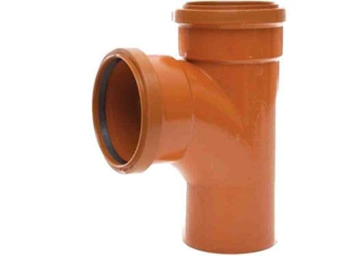 Polypipe 110mm Underground Drainage Pipe Junction