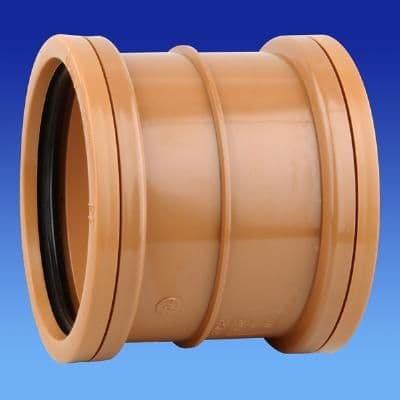 Polypipe UG401 110mm Drainage Pipe Coupling