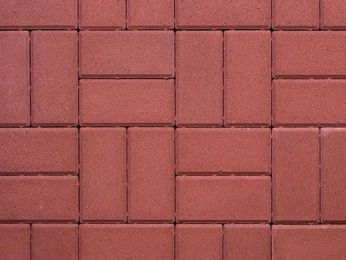 Red Block Paving Per M2
