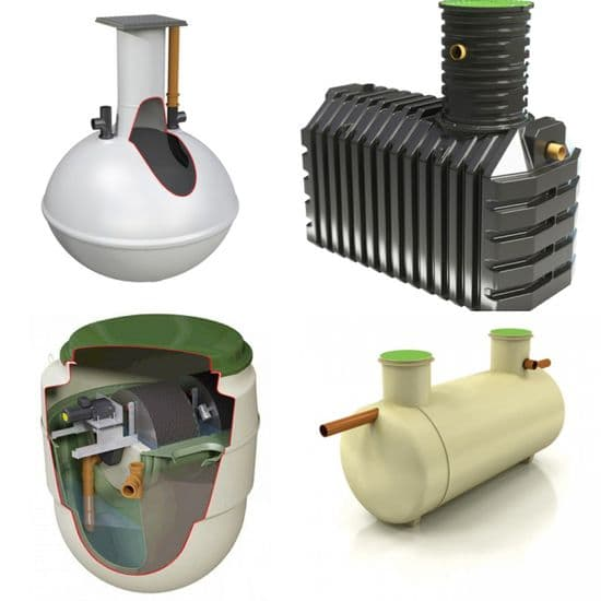 Septic Tanks and Treatment Plants