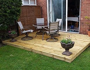 Timber decking pack