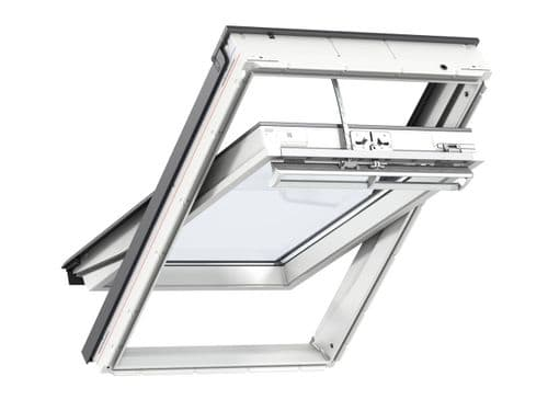 VELUX GGU INTEGRA electric PU centre-pivot roof window