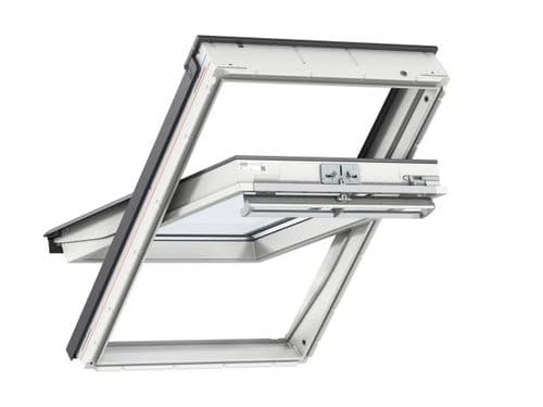 VELUX GGU White PU centre-pivot roof window