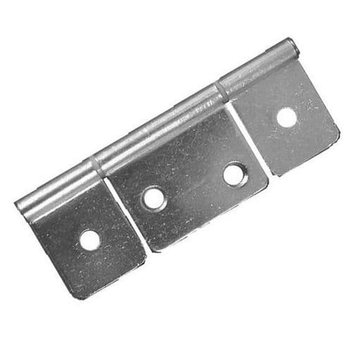 3 Leaf Hinge 85mm Satin