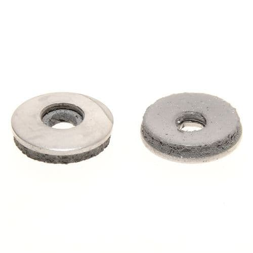 4.8MM X 10MM x 3MM SS BONDED WASHER