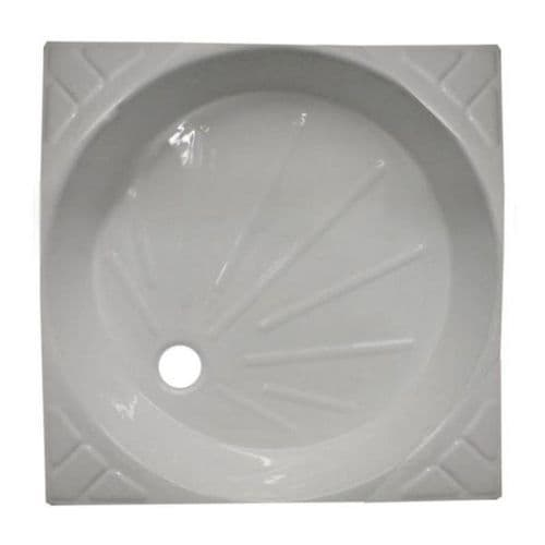680X680 UNIVERSAL SHOWER SKIN WHITE