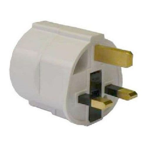 ADAPTOR UK SOCKET TO FRENCH SOCKET