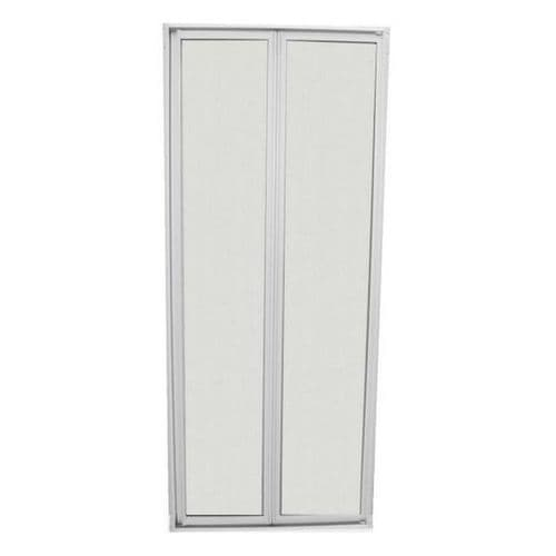 BI-FOLD SHOWER DOOR AND FRAME 160CM X 64CM