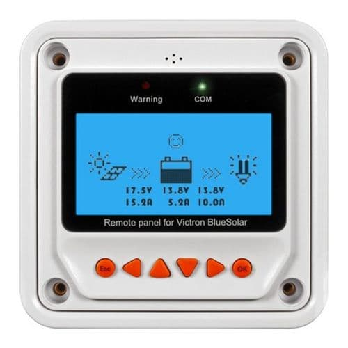 BlueSolar PWM-Pro Remote Panel for Solar Charge Controllers