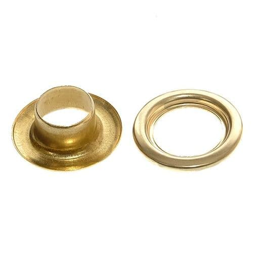 Brass Eyelet Kit Pack of 20