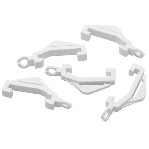 Curtain Track Gliders Pack of 100