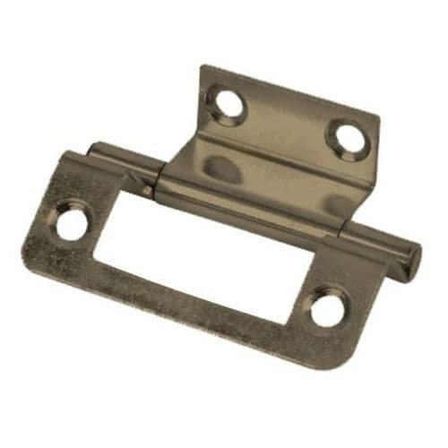 Double Cranked Hinge Bronze