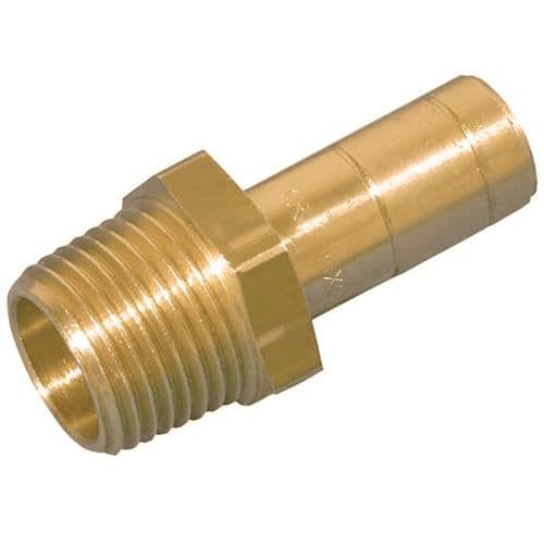 HEPWORTH BRASS ADAPTOR MALE